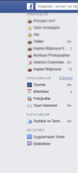 facebook uygulamalar